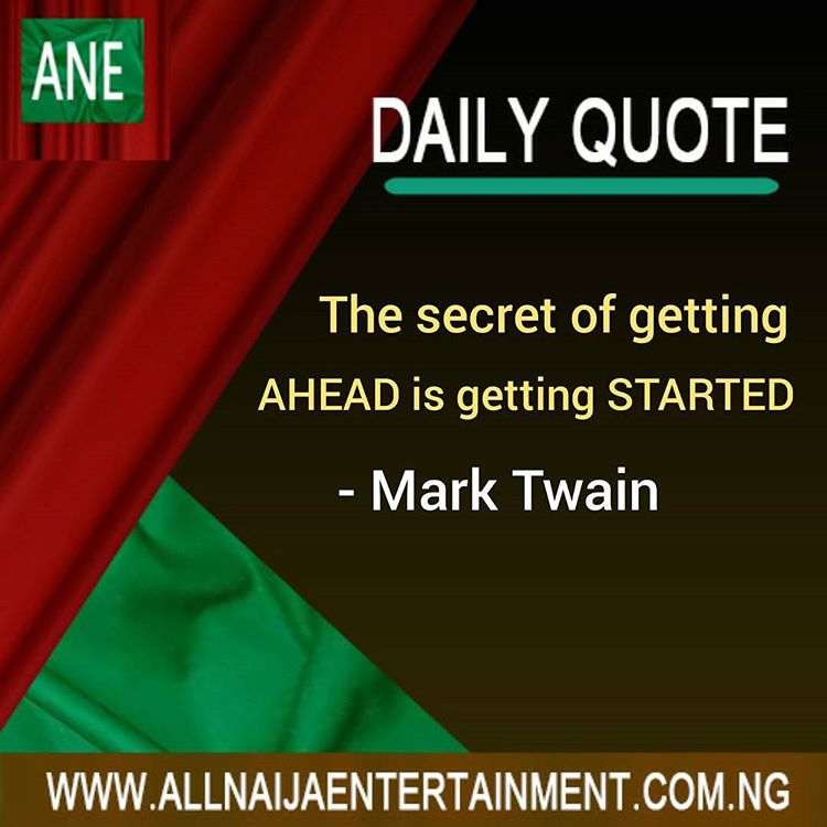 All Naija Entertainment Daily Quote